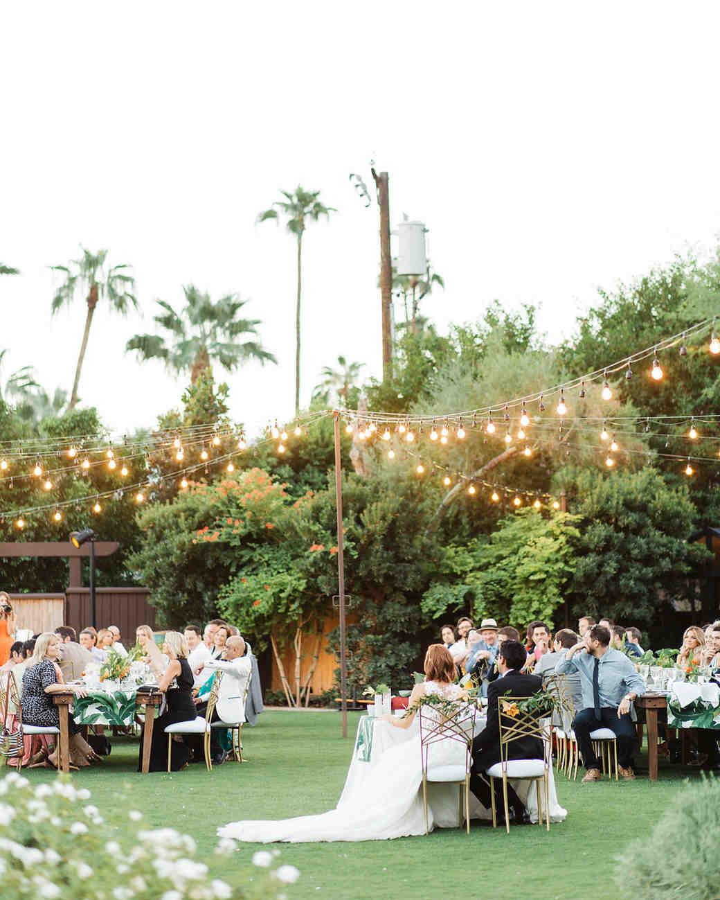 emily adhir wedding reception lighted