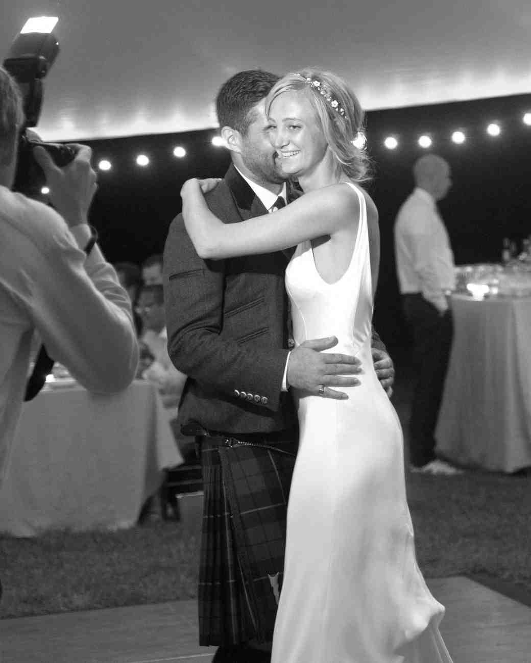 emily sam wedding first dance