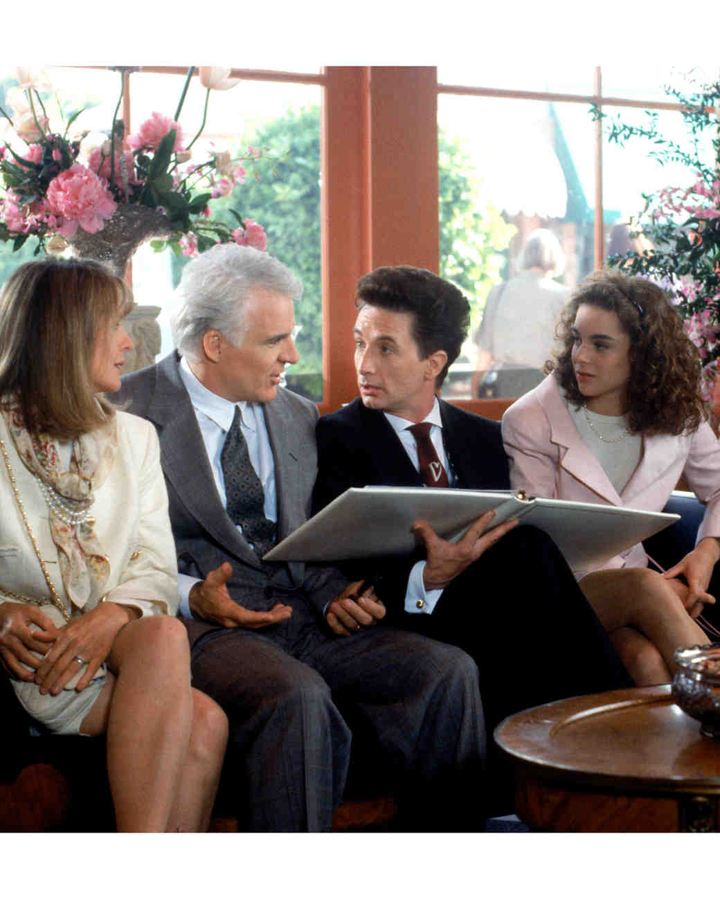 "You Have to See the ""Father of the Bride"" Reunion That Happened This Weekend"