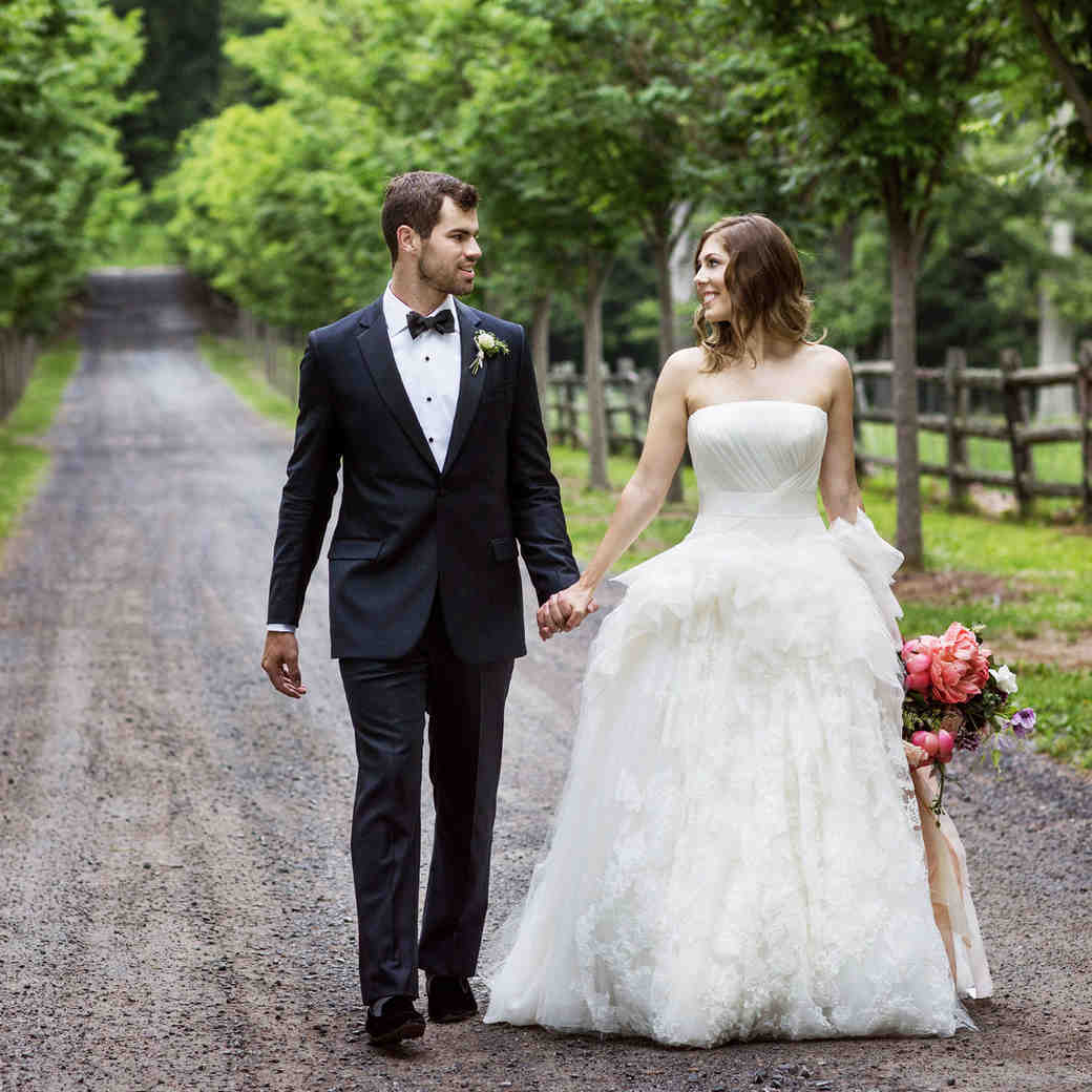 A Whimsical Wedding at an Upstate New York Mansion