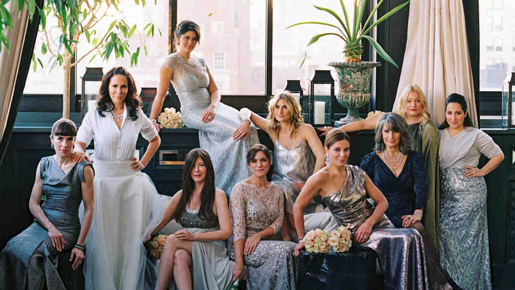 Metallic Bridesmaid Dresses That You Can Wear Over and Over Again