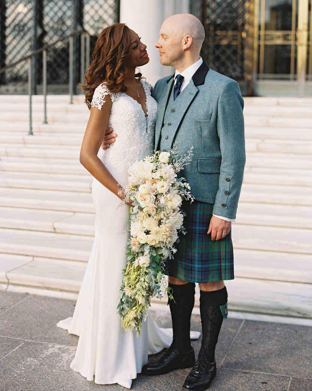 meki ian wedding portrait