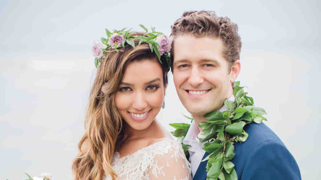 Renee Puente and Matthew Morrison's Destination Wedding in Hawaii