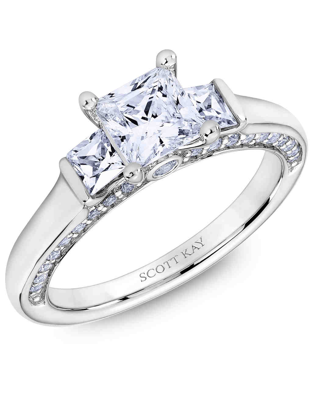 Princess-Cut Diamond Engagement Rings
