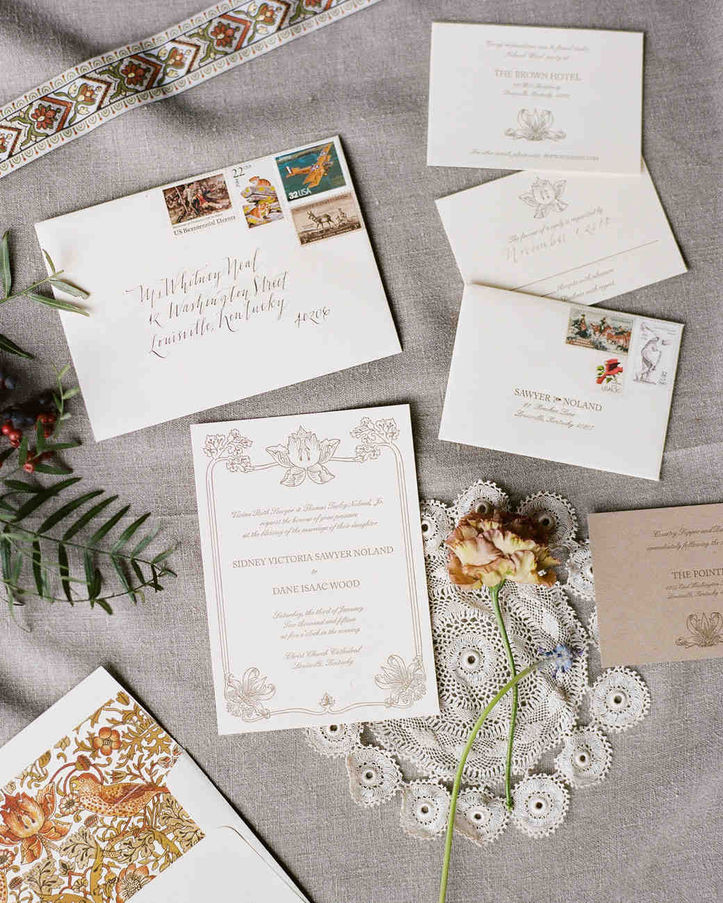 addressing and mailing your wedding invitations handwritten wedding invitations 10 Things You Should Know Before Mailing Your Wedding Invitations Martha Stewart Weddings