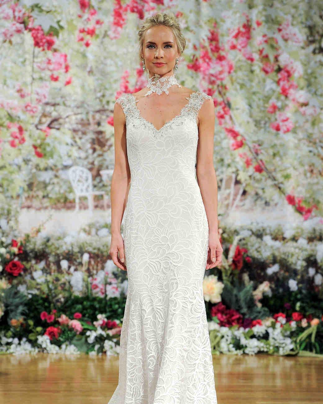 Sottero and Midgley Sleeveless Wedding Dress with Lace