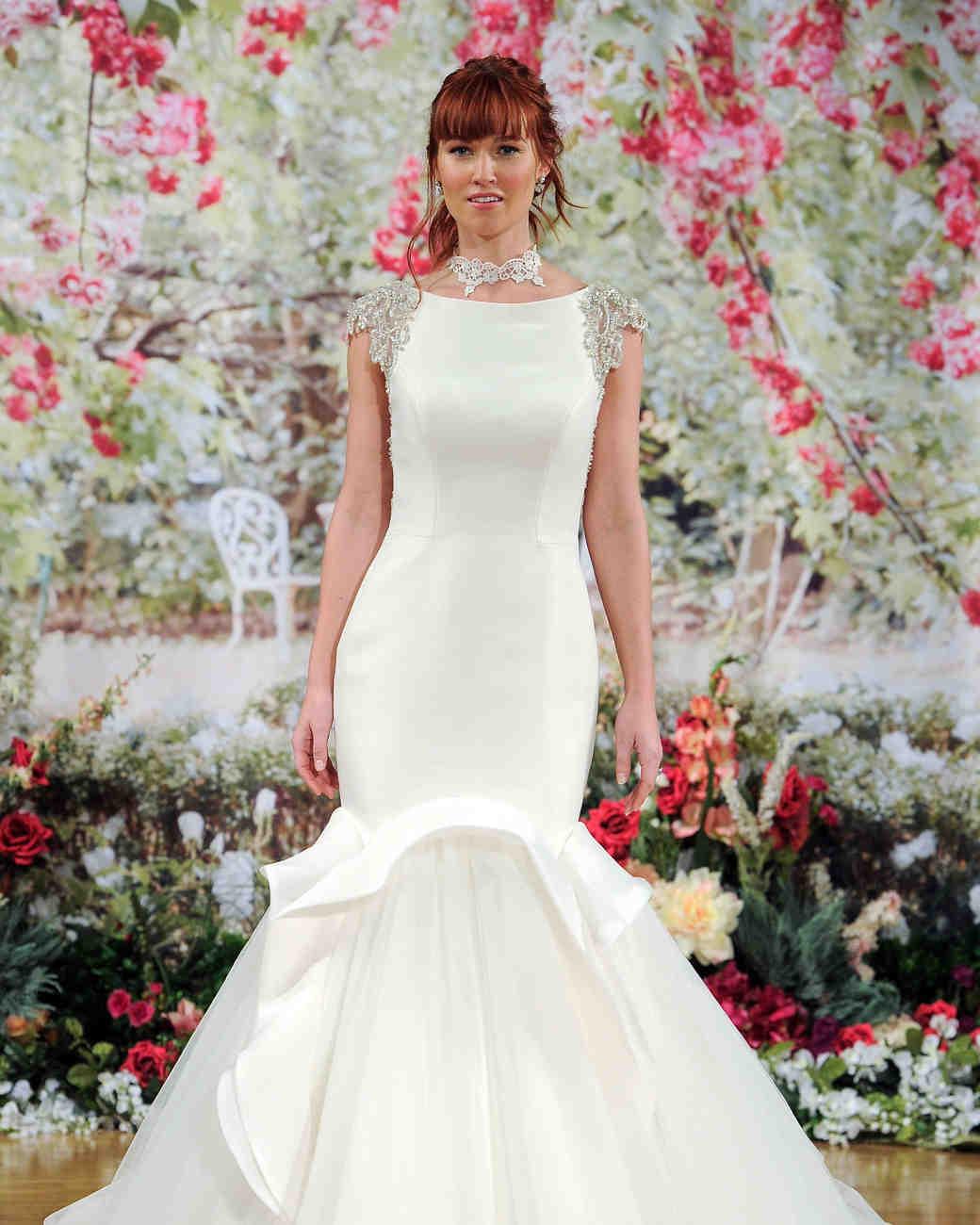 Sottero and Midgley Fall 2017 Wedding Dress with Mermaid Skirt