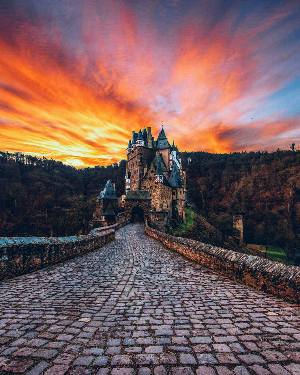 wierschem germany eltz castle travel photo