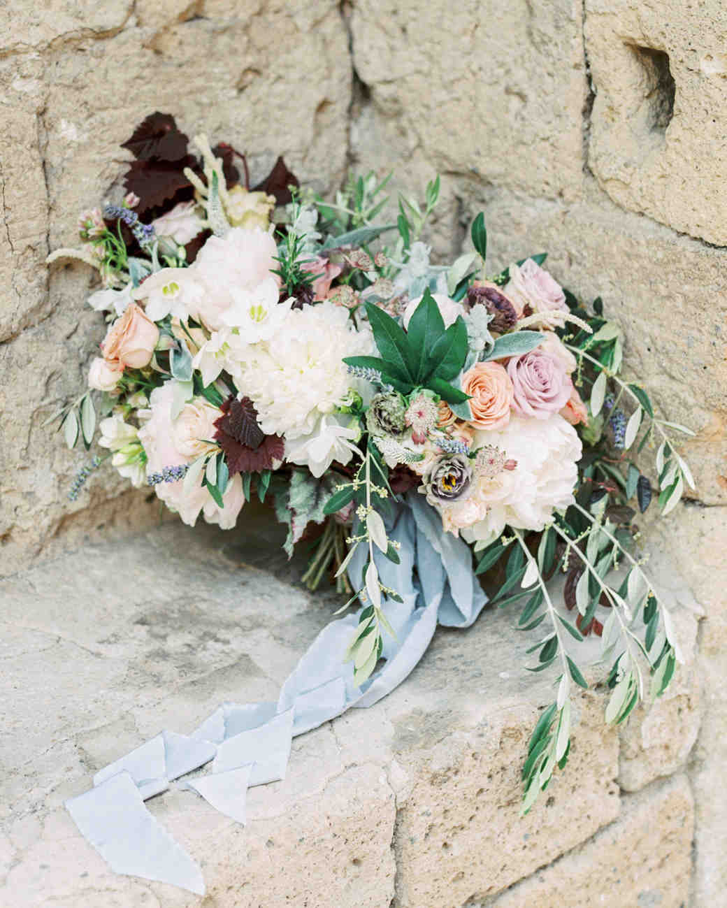 Muted Palette Wedding Bouquet