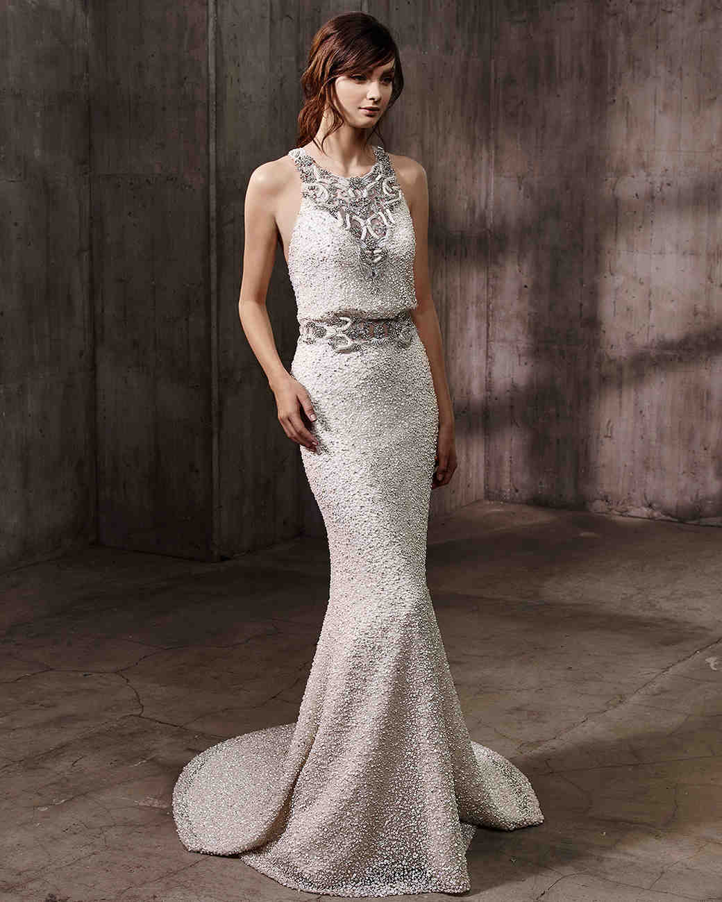 Badgley mischka fall 2017 wedding dress collection for Wedding dress badgley mischka