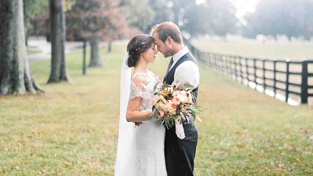 A Rainy, Intimate Farm Wedding in Kentucky