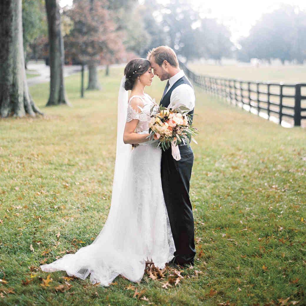 A Rainy, Intimate Farm Wedding in Kentucky