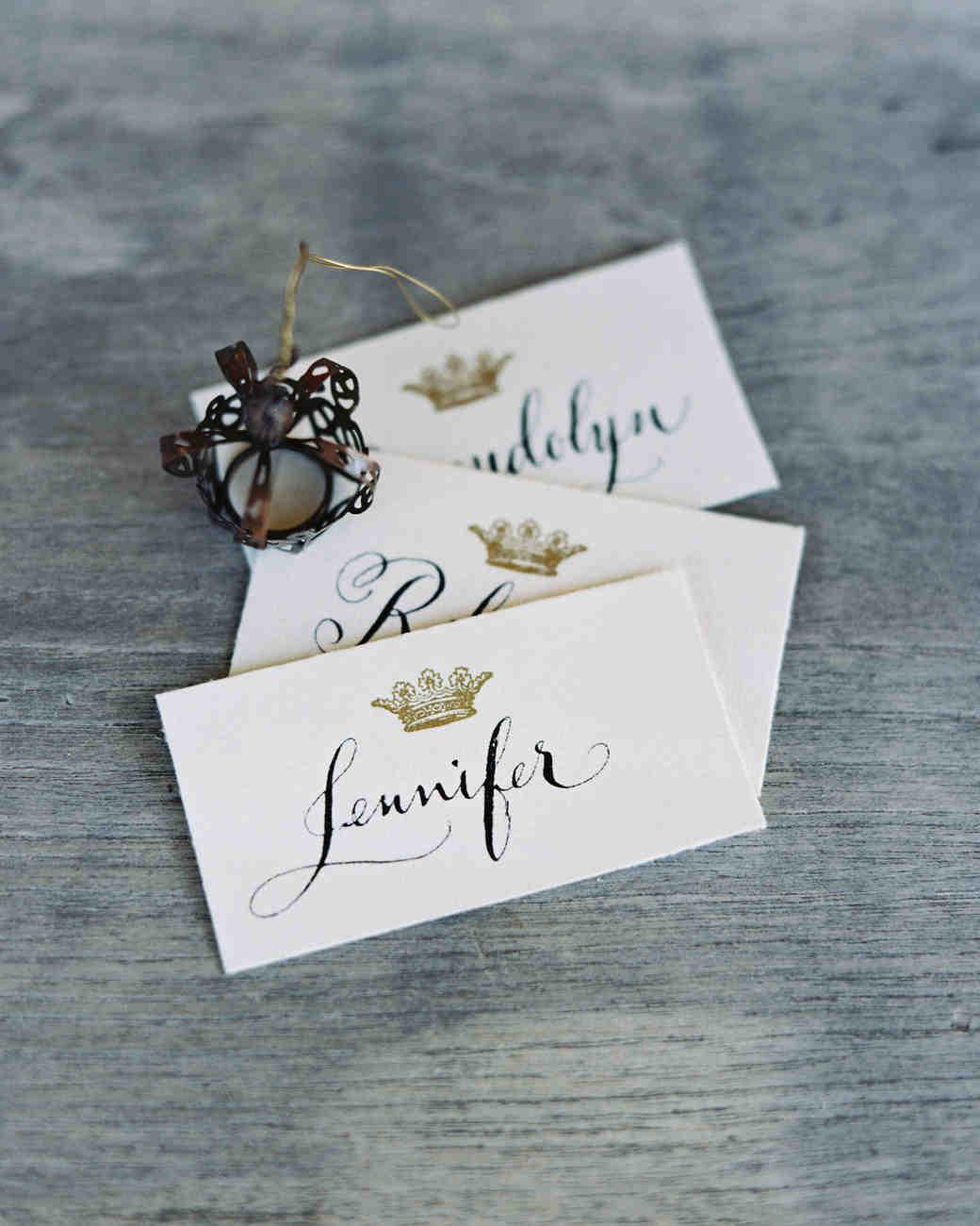 ciera preston wedding place cards