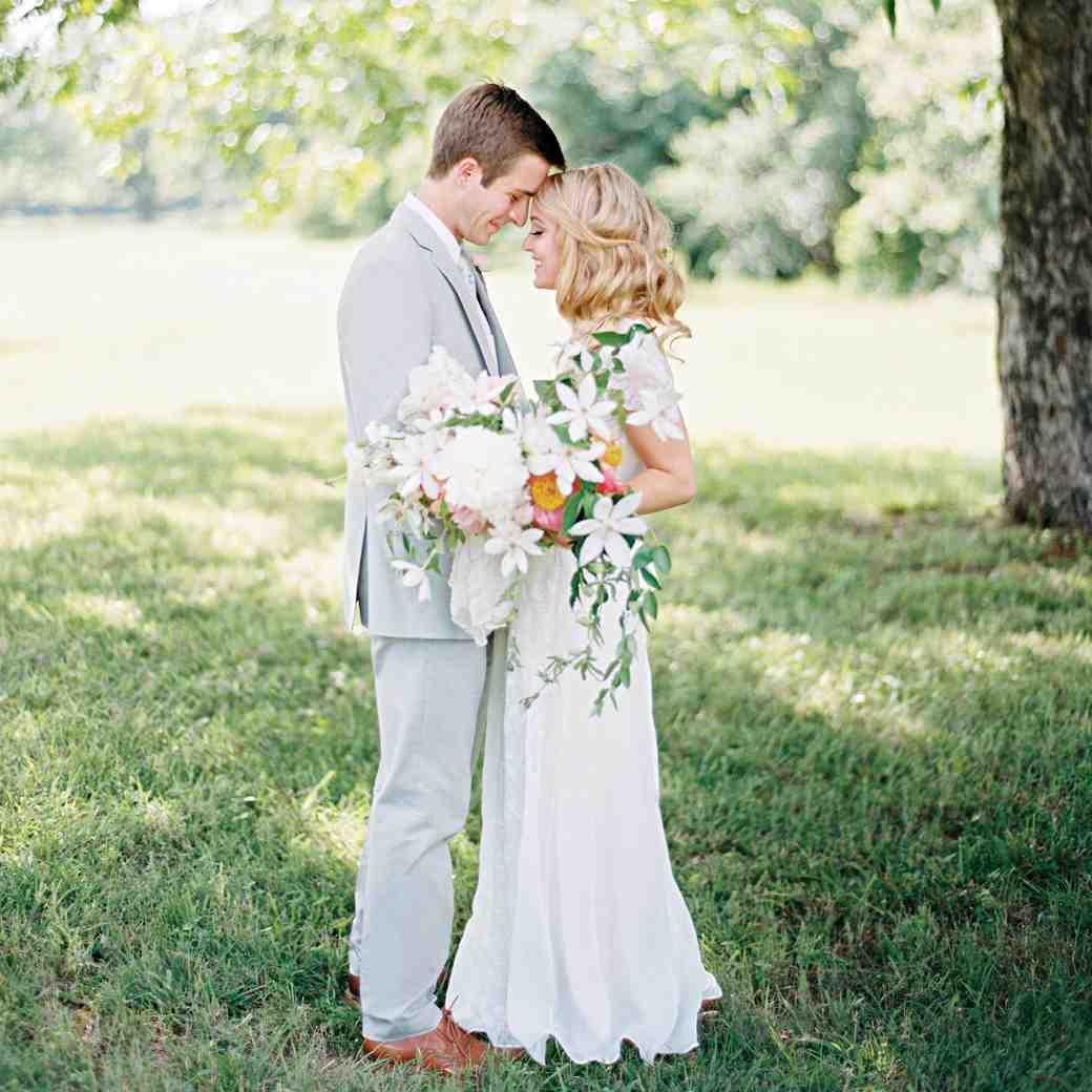 A Pastel Wedding at a Texas Orchard