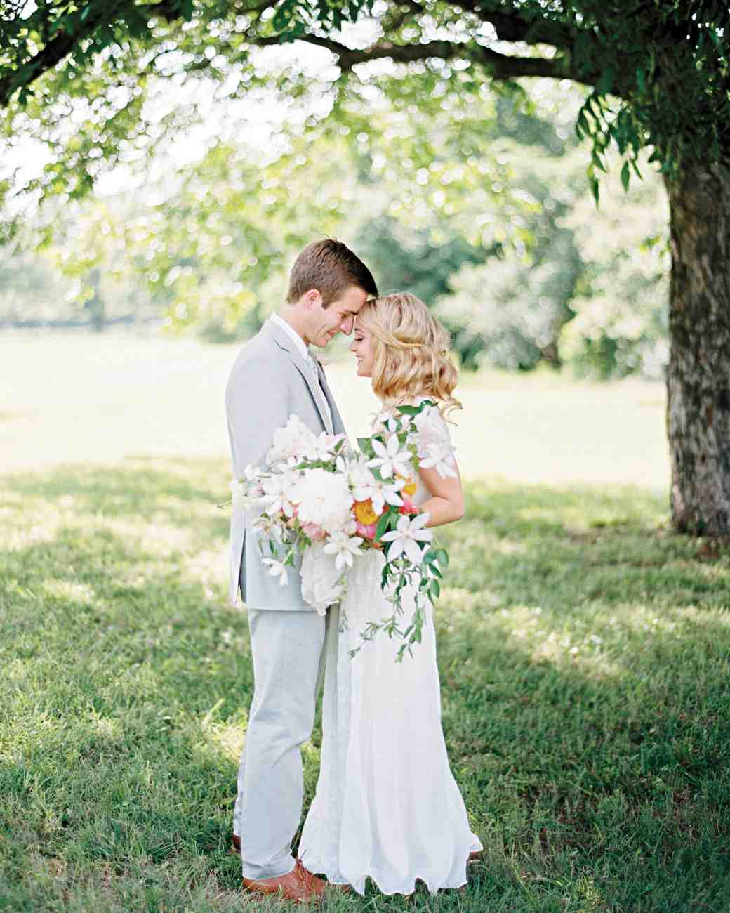A Pastel Wedding At A Texas Orchard