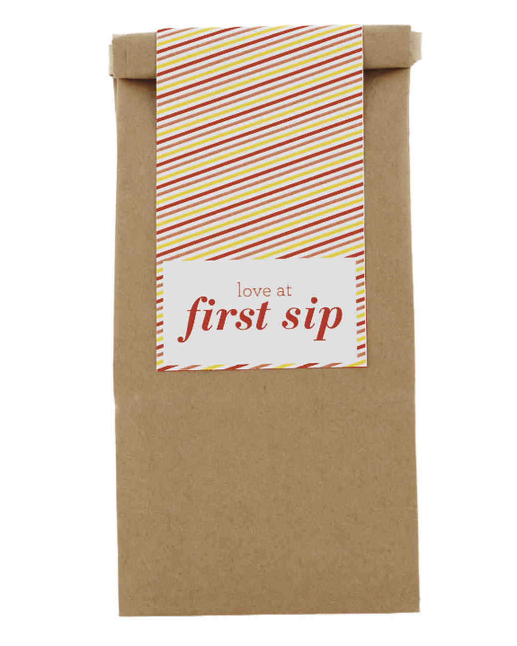 Coffee Bag Favors