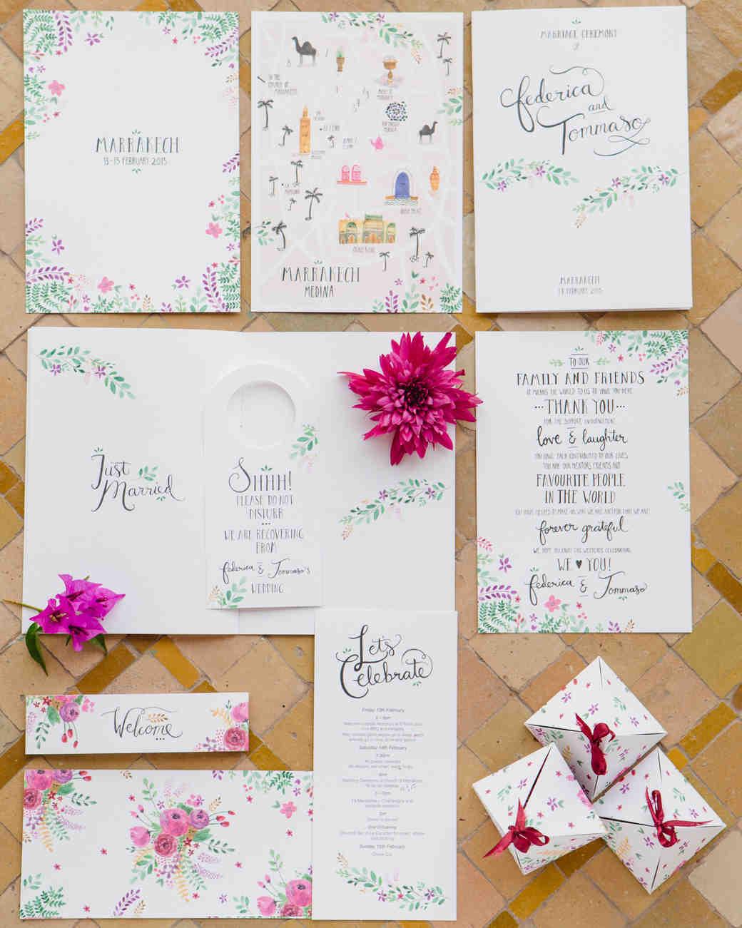 Wedding Stationery Styles For Every Personality | Martha Stewart Weddings