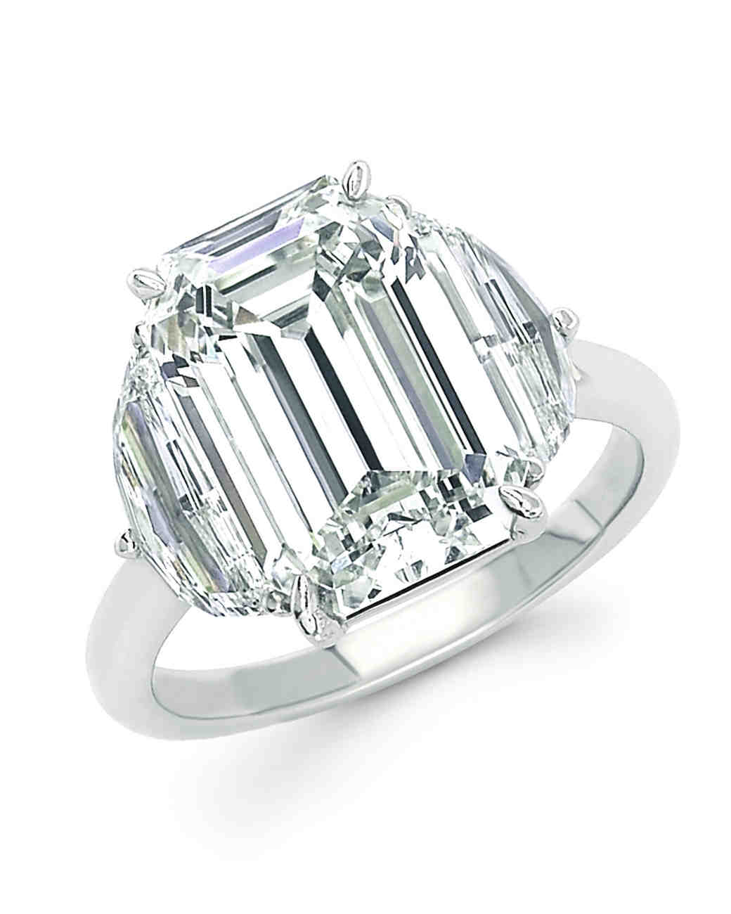 Forevermark Emerald-Cut Engagement Ring