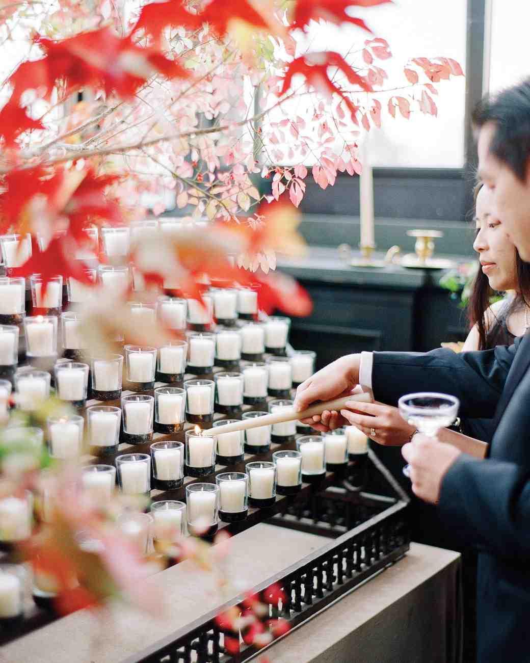 glara matthew wedding candle wishes