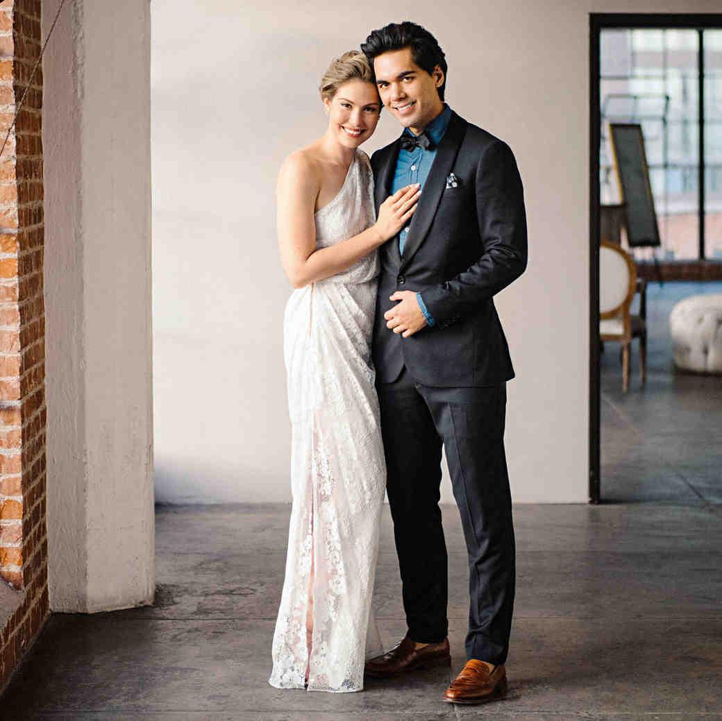 hannah steve wedding california couple