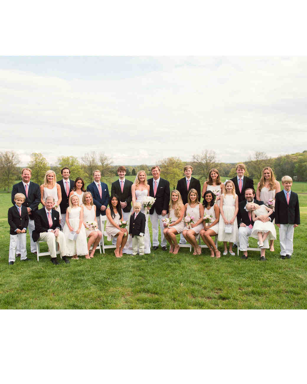 katy andrew wedding bridal party