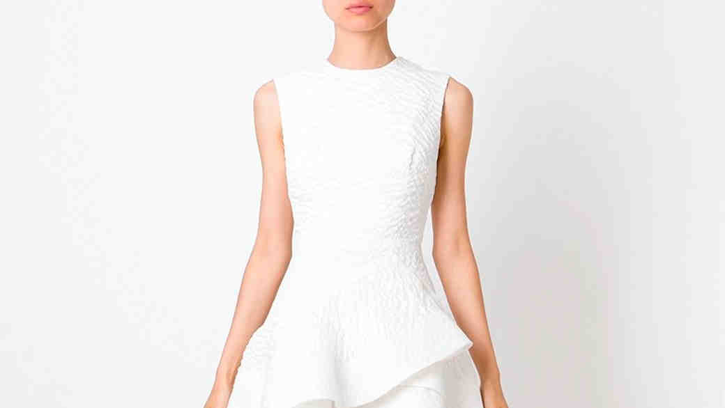 10 Chic Little White Looks for Brides