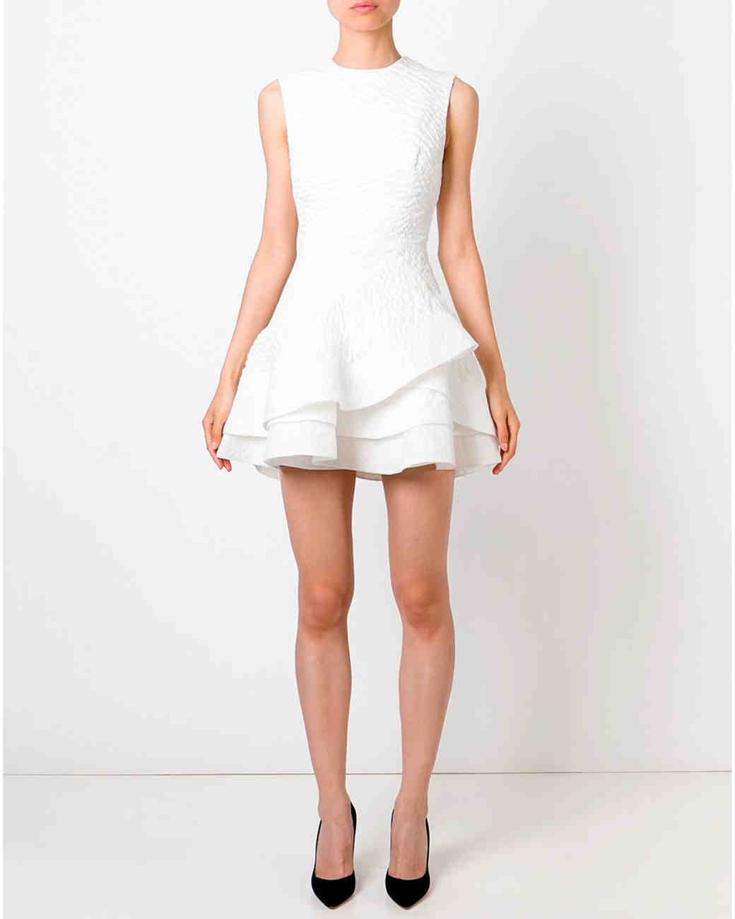 10 Chic Little White Dresses for Brides That You Can Buy Right Now ...