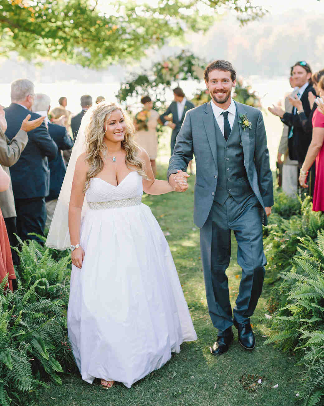 Lizzy and Bucky's Wedding Video From Their Lakeside Celebration