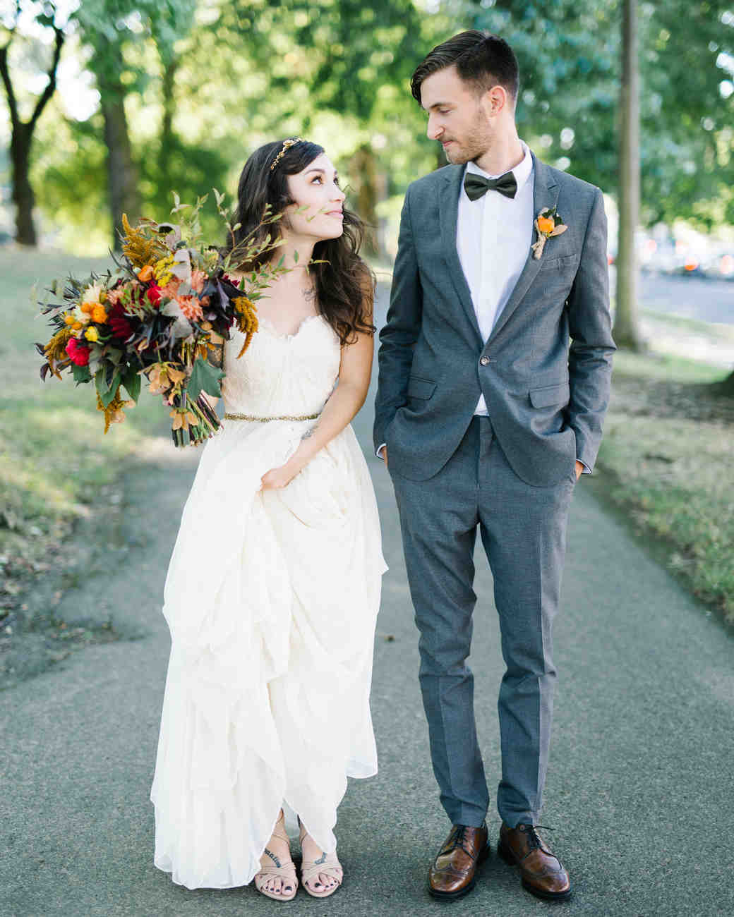 Marguerita And Aaron S Vintage Inspired Wedding In Portland