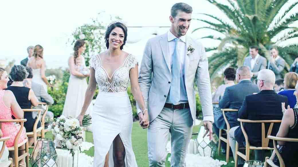 Michael Phelps and Nicole Johnson Wedding