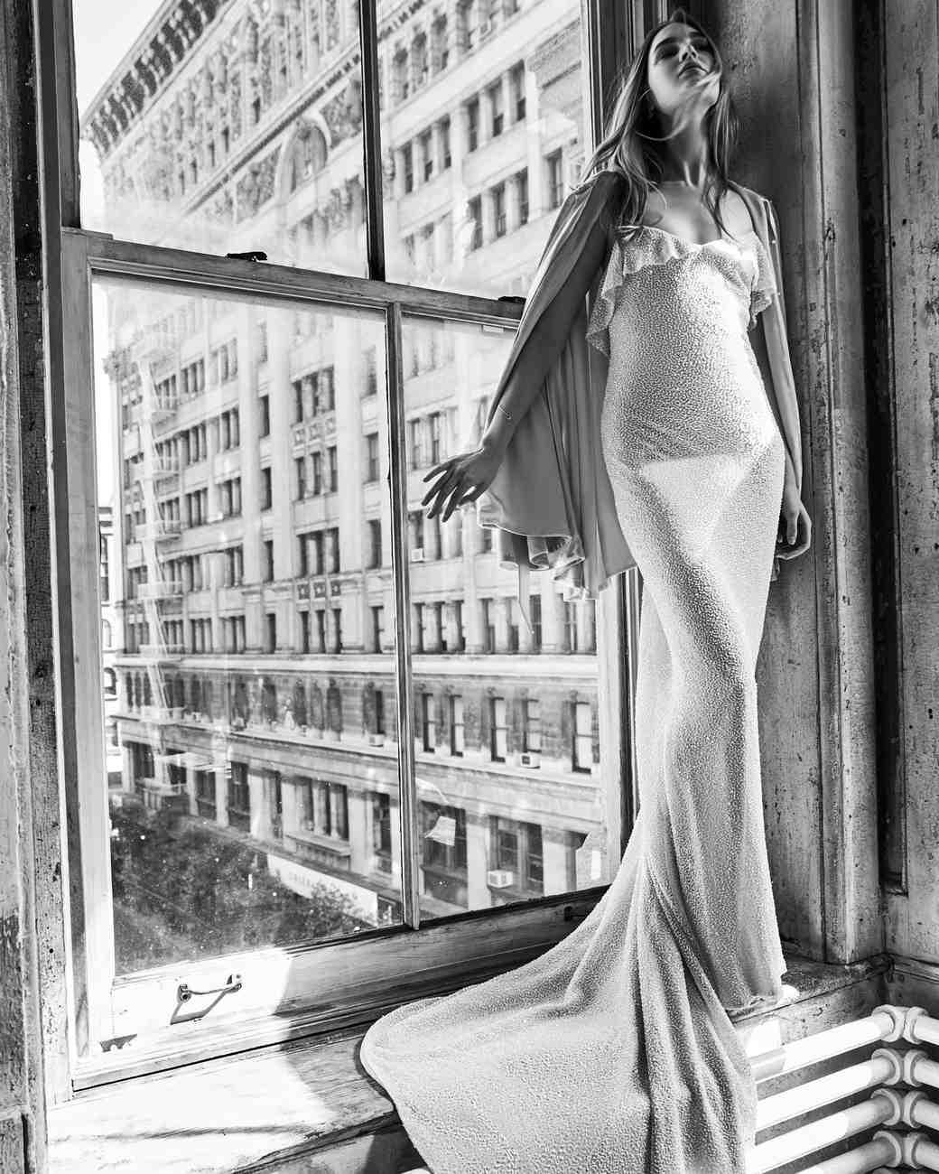 savannah miller train spring 2018 wedding dress