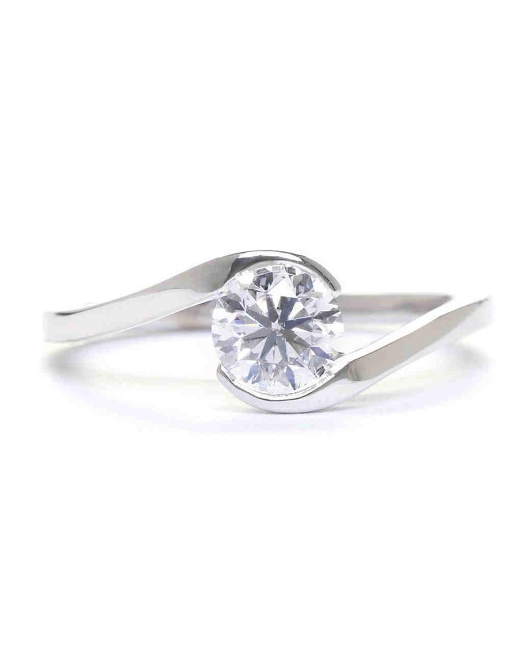 Sholdt White Gold Engagement Ring
