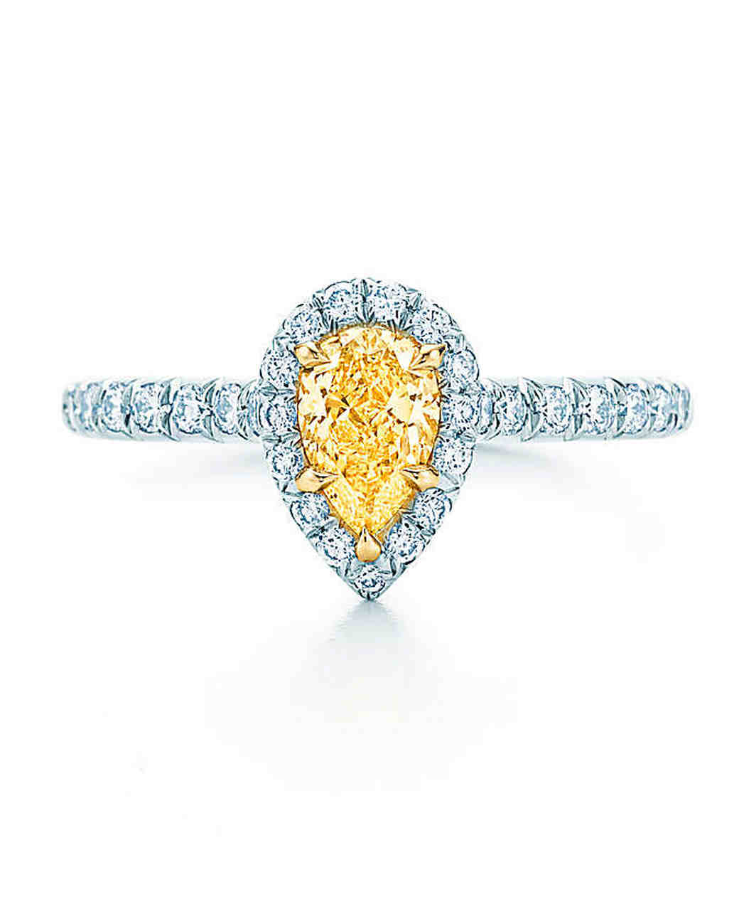 Tiffany & Co. Pear-Cut Engagement Ring