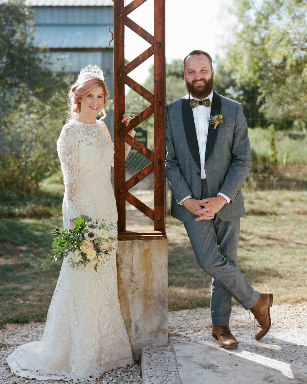 An Eclectic Wedding in Texas with Personalized Touches