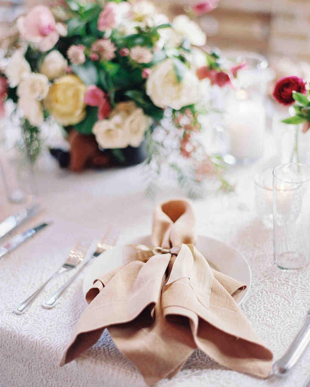 afton travers wedding placesetting