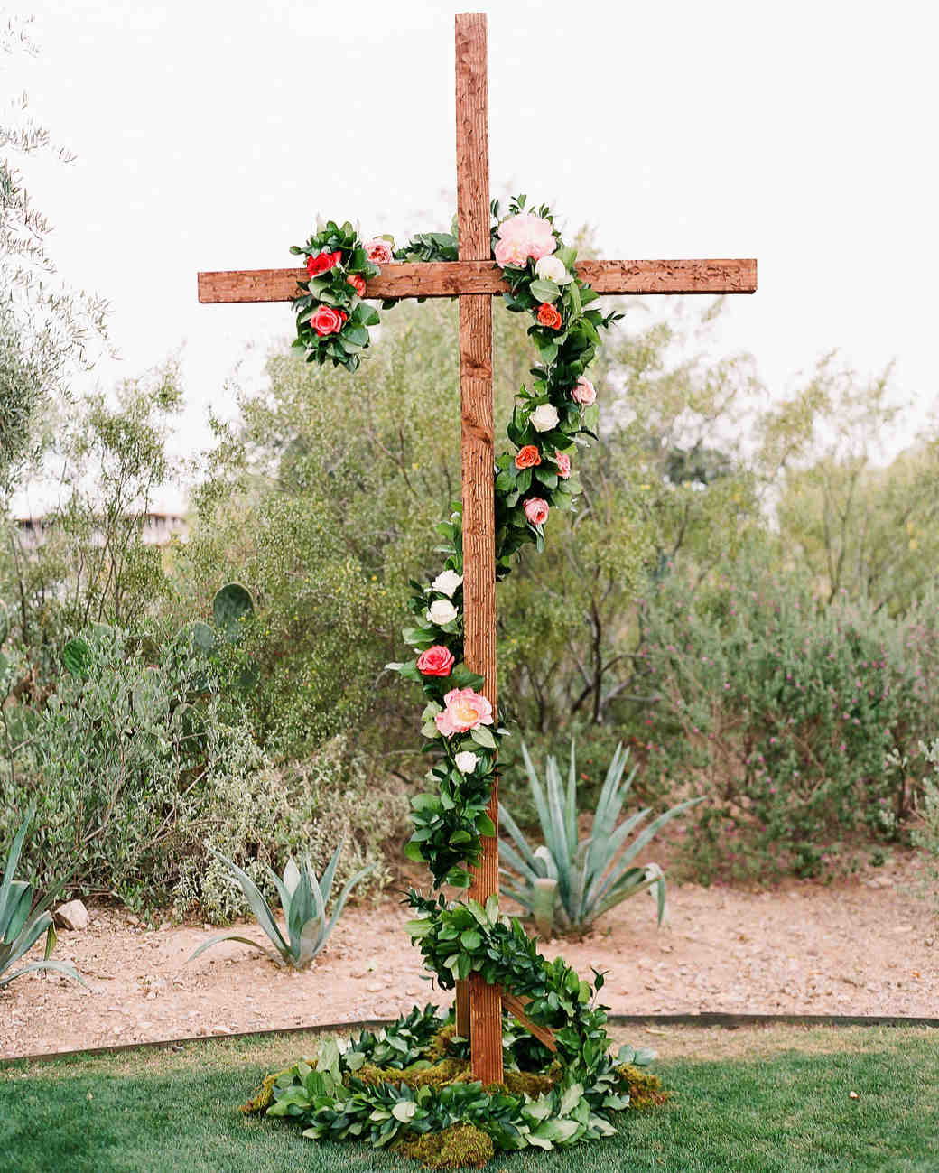 aubrey austin wedding cross