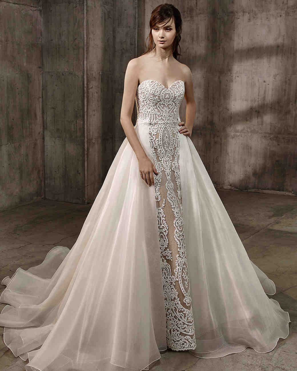 Wedding Gown Trends: Badgley Mischka Fall 2017 Wedding Dress Collection