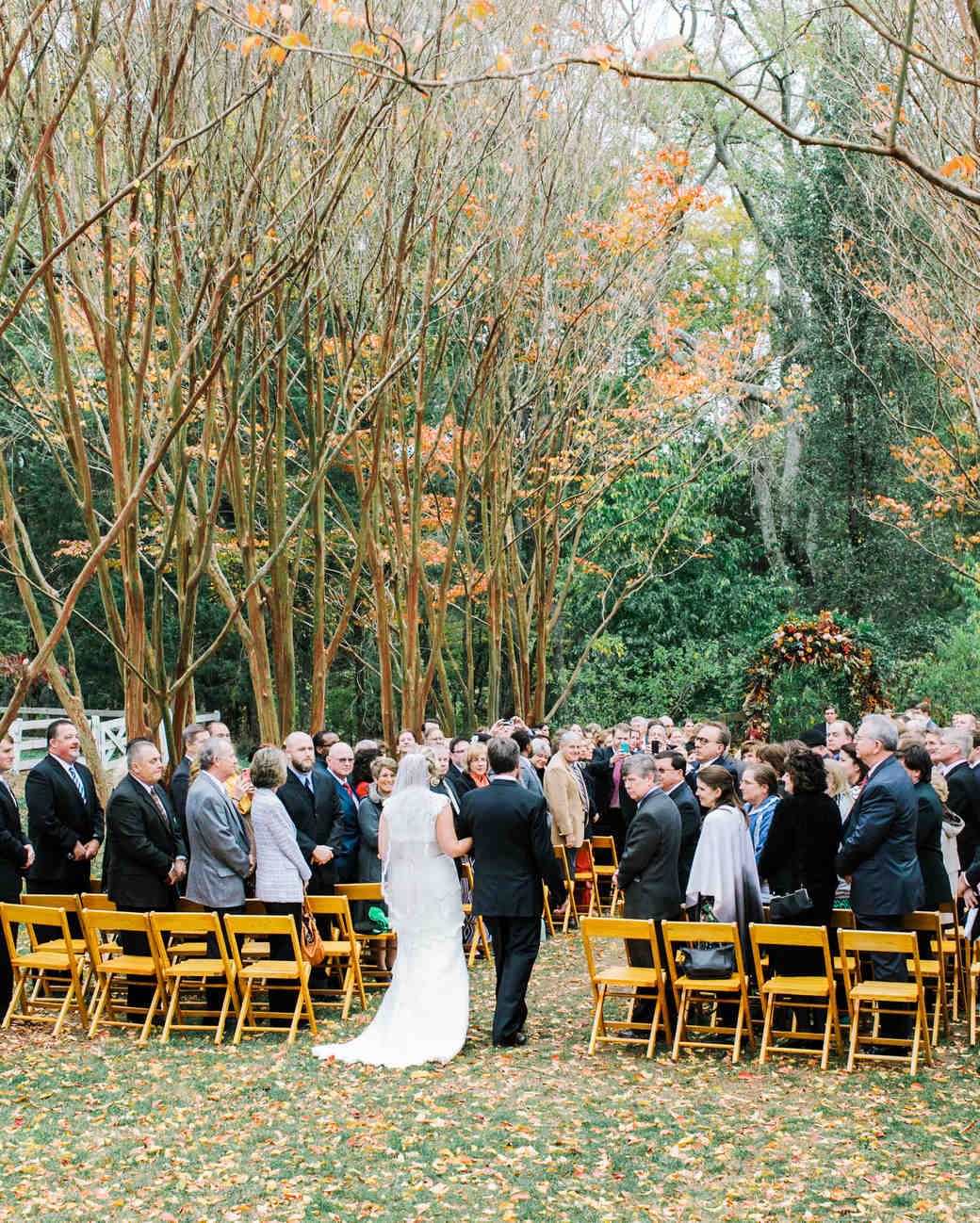 13 Bride Entrance Songs For An Epic Walk Down The Aisle: Brittany And Andrew's Pretty Fall Wedding At Thomas