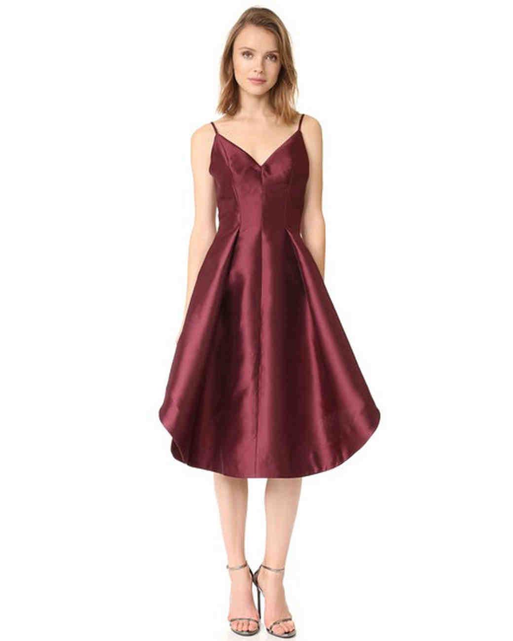 "burgundy bridesmaid dress – Keepsake ""Translate Dress"""