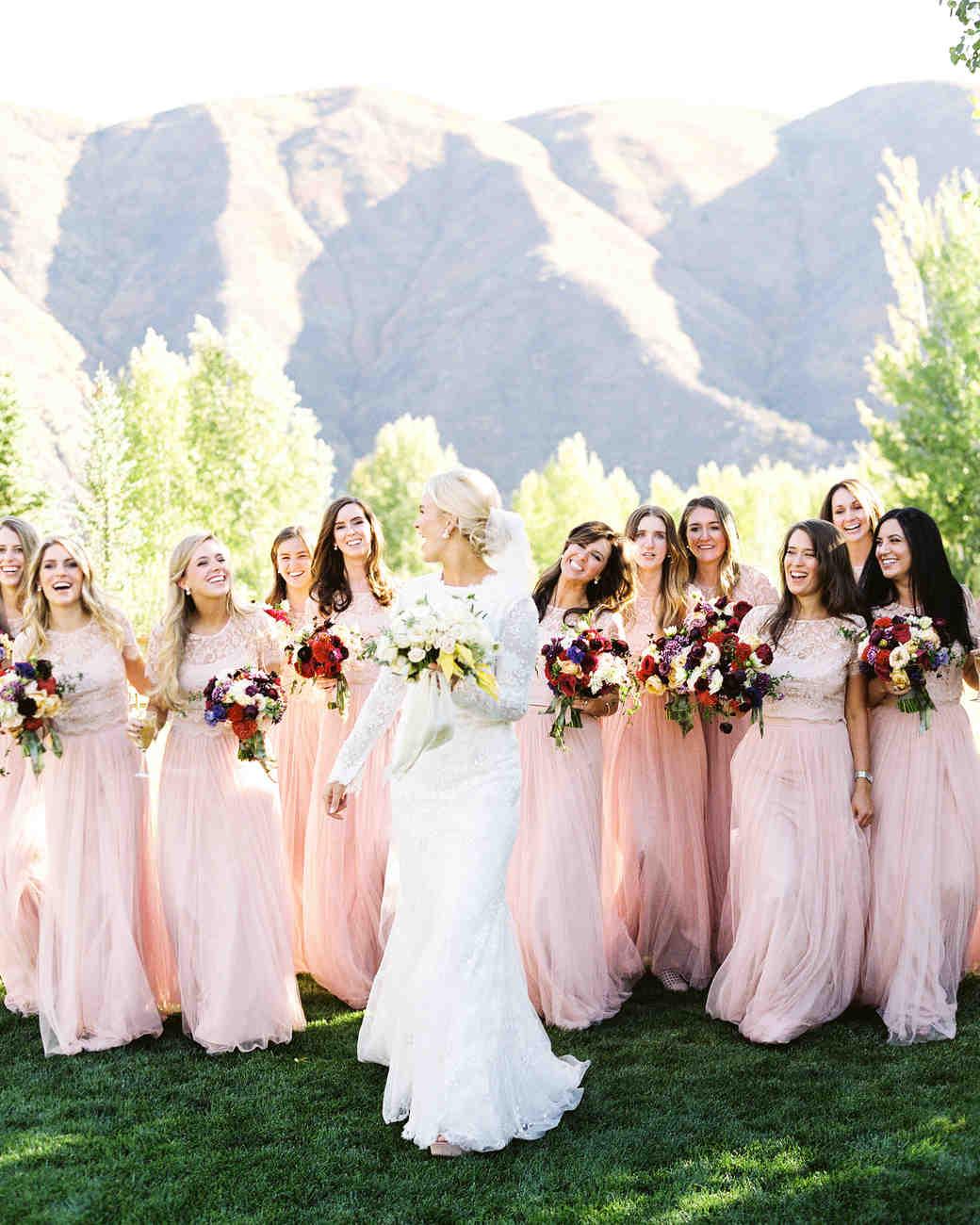 Bridesmaids Martha Stewart Weddings