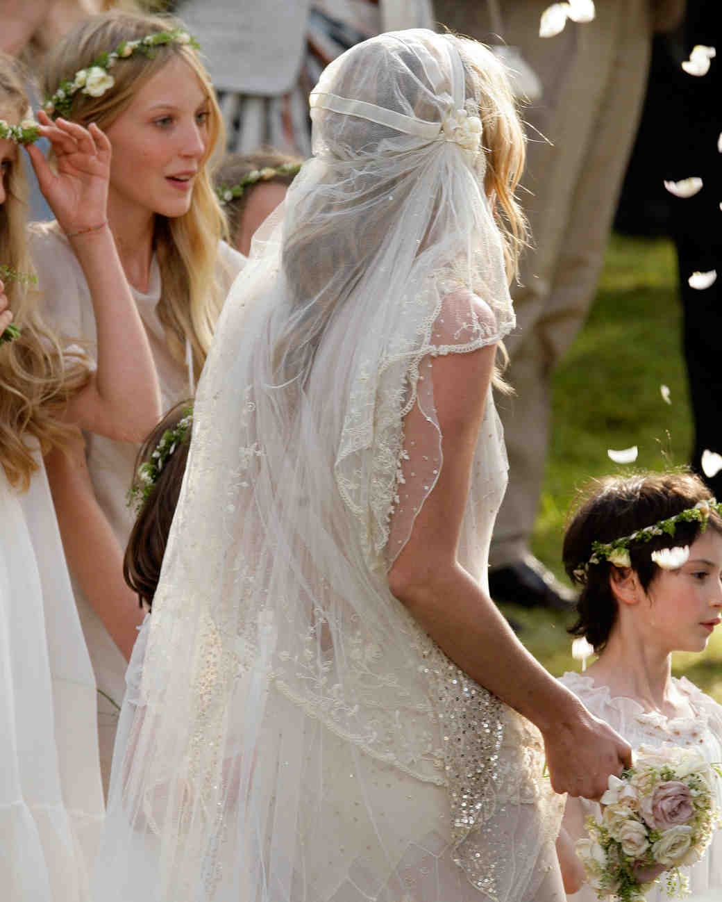 26 Celebrity Brides Who Wore Unforgettable Veils Martha