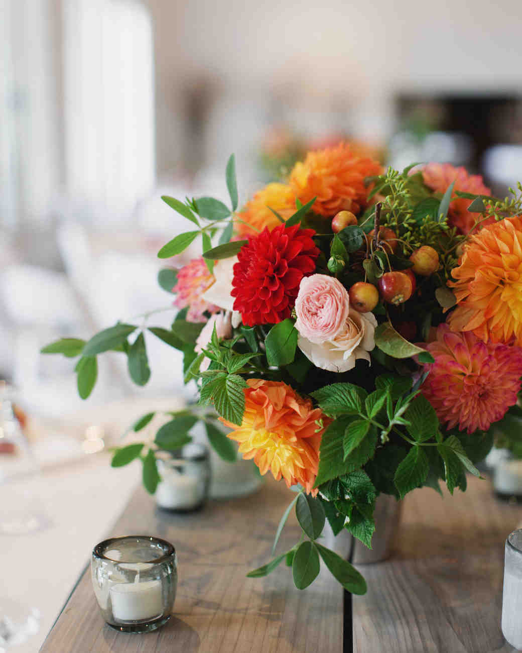 DIY Farm-Sourced Centerpieces