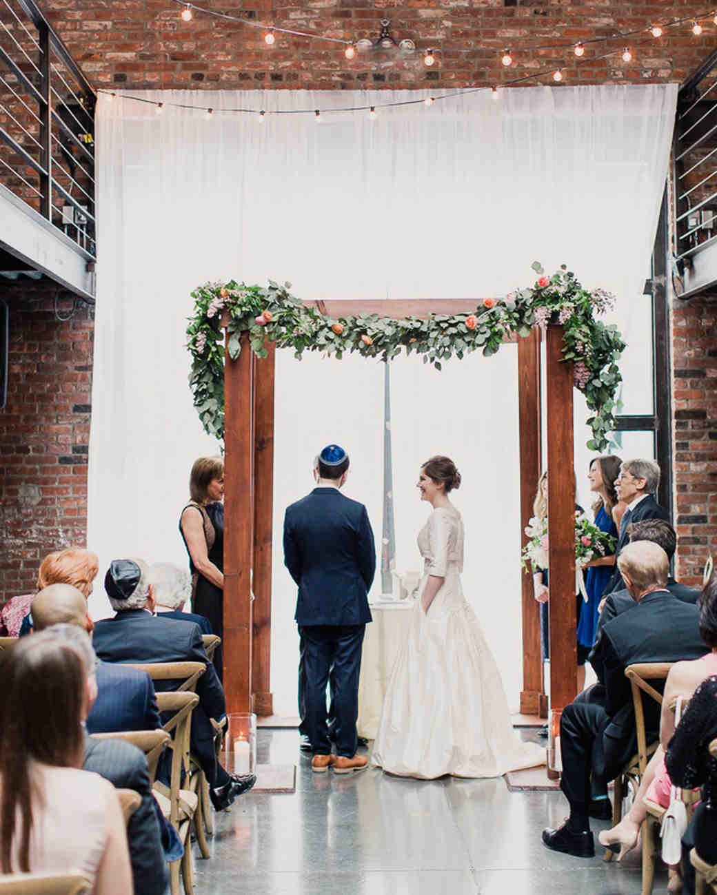 25 Beautiful Chuppah Ideas From Jewish Weddings Martha