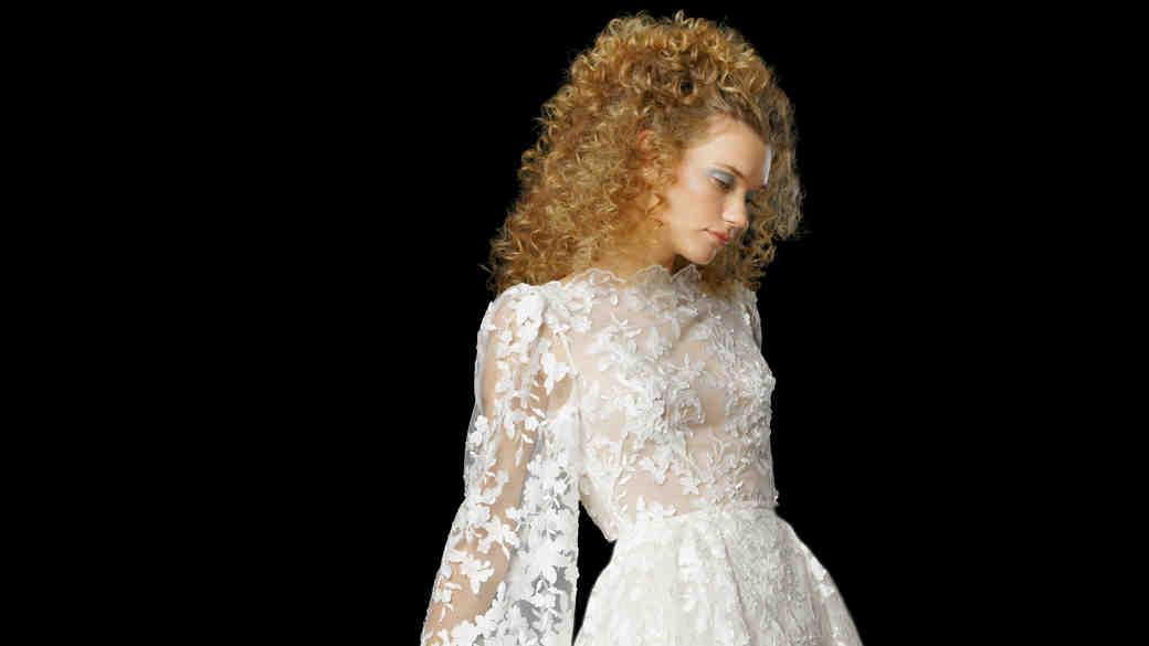 Elizabeth Fillmore Fall 2017 Wedding Dress Collection - Ada