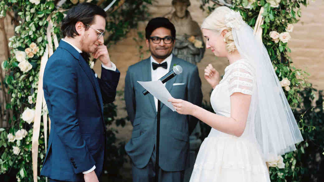5 Romantic Readings for a Valentine's Day Wedding