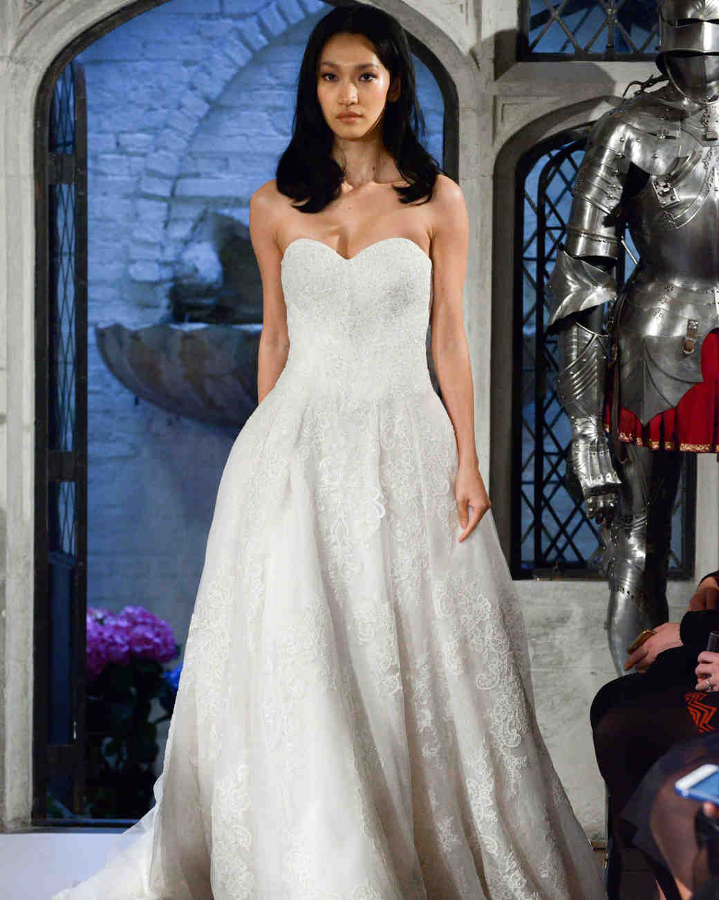 oleg cassini lace wedding dress spring 2018