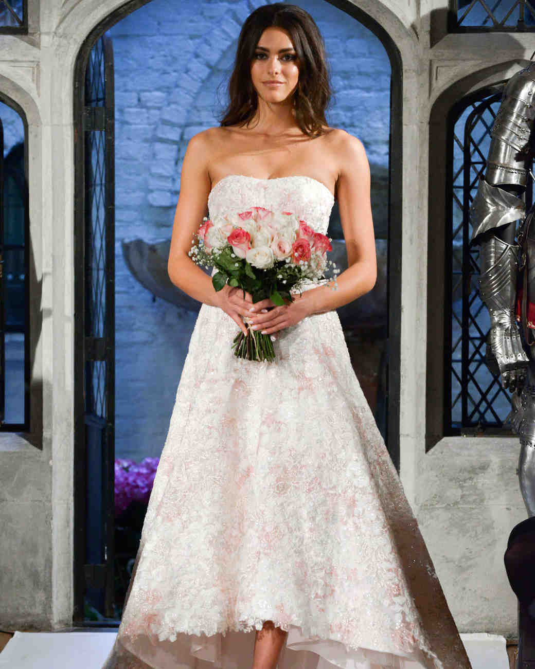 oleg cassini a-line wedding dress spring 2018