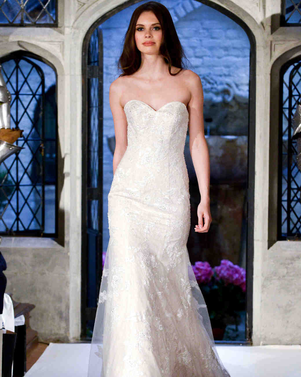 oleg cassini sweetheart wedding dress spring 2018