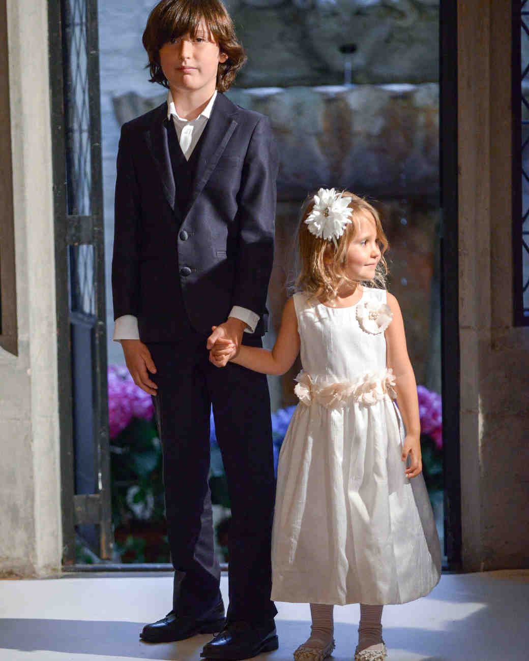 oleg cassini ring bearer flower girl spring 2018