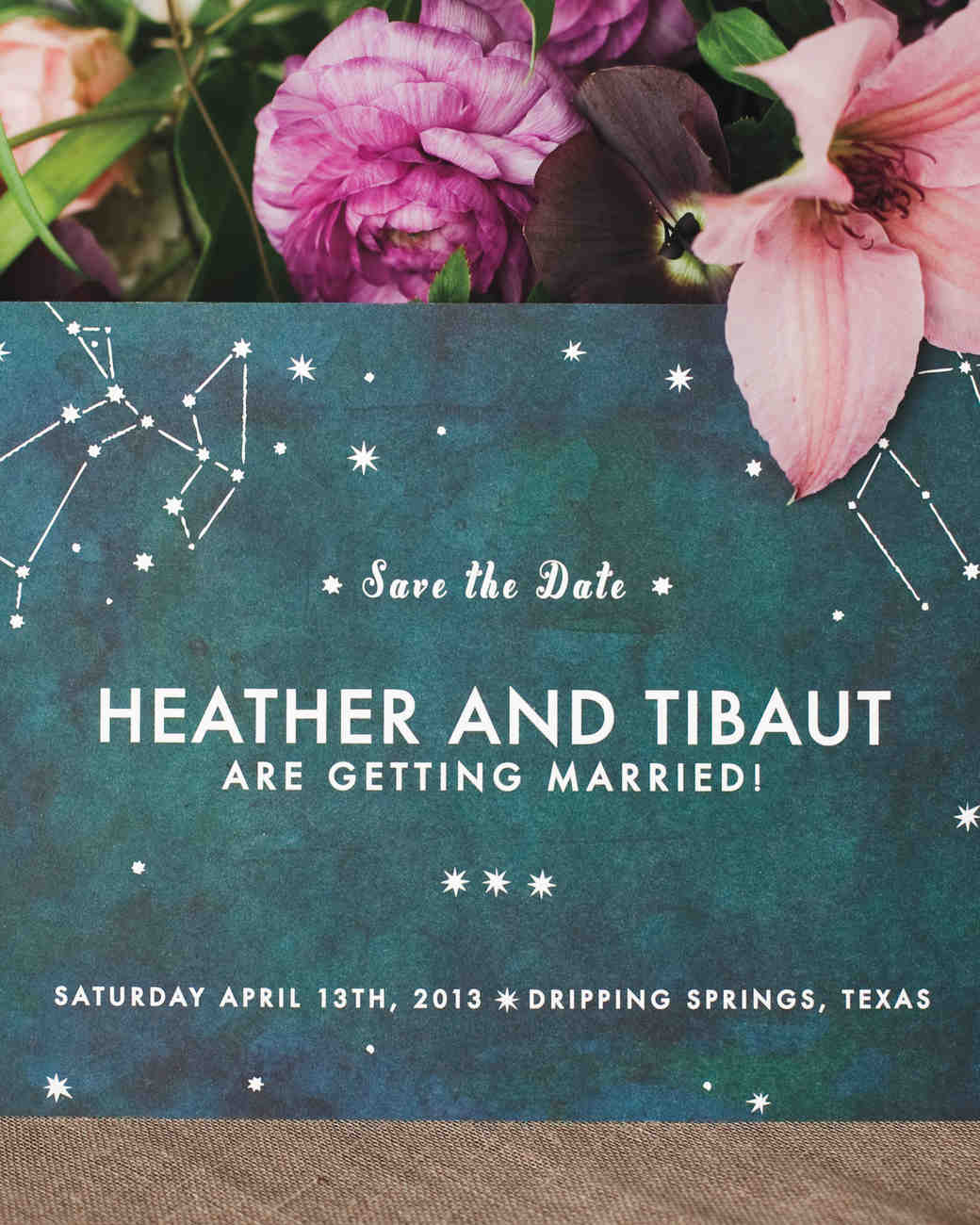 Constellation Wedding Save-the-Date